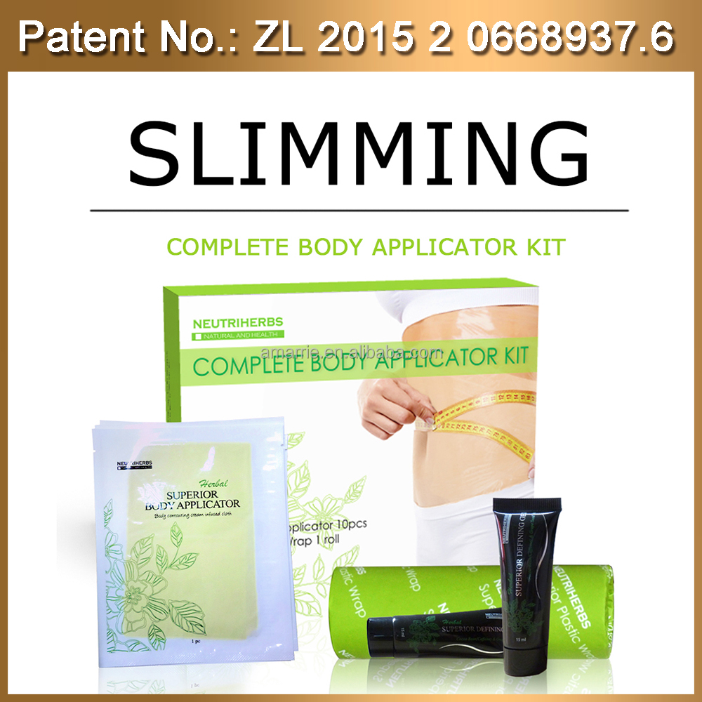 Neutriherbs superior slimming body wraps and slimming gel best fat burning Chinese body fat burner