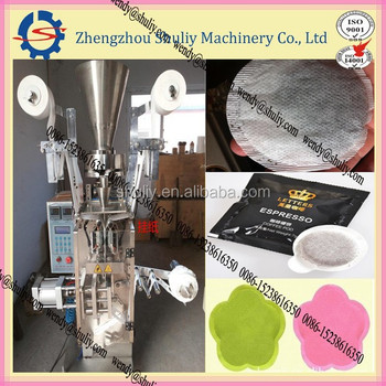 four side Round bag coffee packaging machine