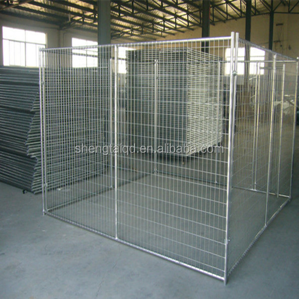 Welded wire mesh pet kennels for dog