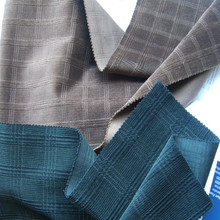 Professional Corduroy Fabric Manufacturer 21Wales Check Dobby Stretch Corduroy Cloth