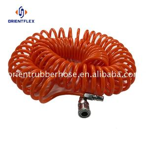 China flex heavy duty cleaning PU truck air brake coil hose supply