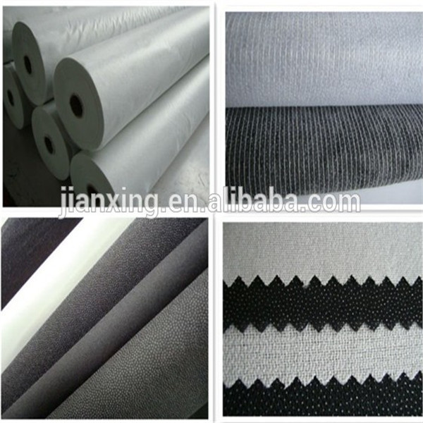 Double dot nonwoven fusible interlining for garment