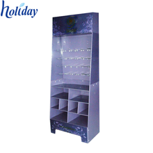 High Quality Cardboard Gift Card Display,Floor Standing Gift Card Display Rack,Greeting Card Display Racks With Hooks