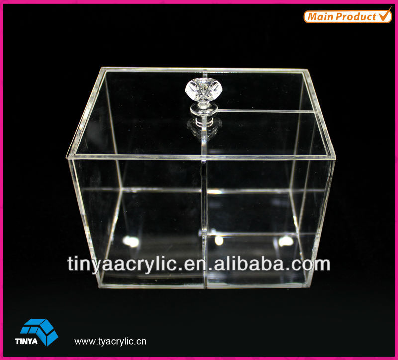 With Lid High Transparent Acrylic Box For Any Things