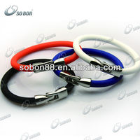 cute bracelet anniversary gift for girlfriend silicone rubber bands
