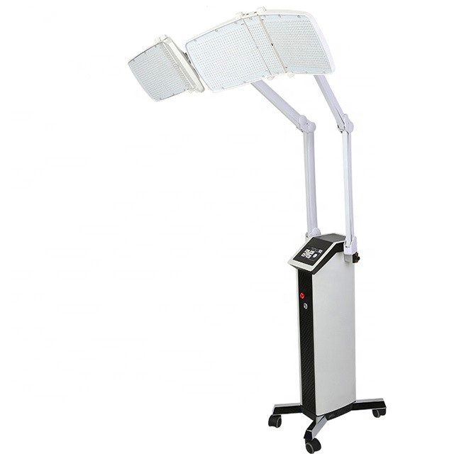 2520pcs lamps led pdt machine - repair sensitive skin improving skin texture led pdt bio light therapy with two heads