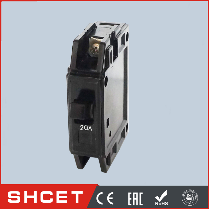 SHCET BH black housing plug in automatic circuit breaker MCB