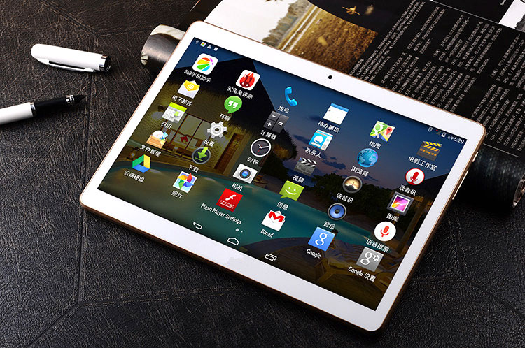 9.6 Inch IPS Screen MTK6735 Quad core Processor Android 5.1 Talbet PC 3G 4G WIFI Built In WIFI Android Tablet GPS
