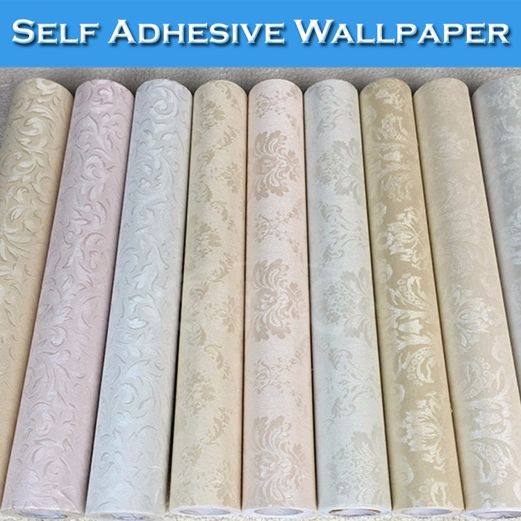 Sino interior 3d self adhesive vinyl simple wallpaper for for 3d self adhesive wallpaper