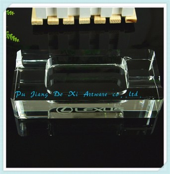 Custom ashtrays, crystal ashtray in hot sale/cheap glass ashtray