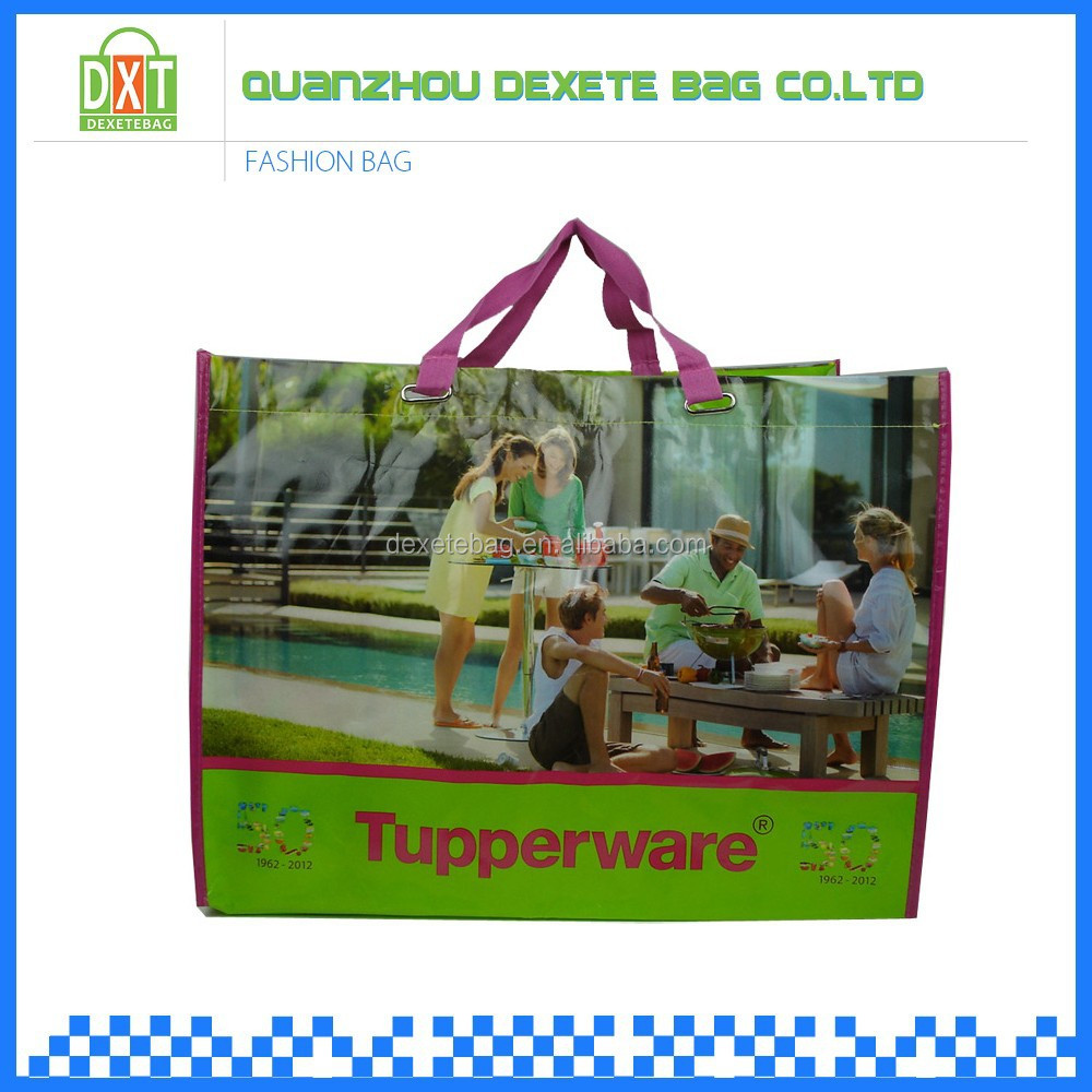 Custom size china promotion nonwoven shopping bag