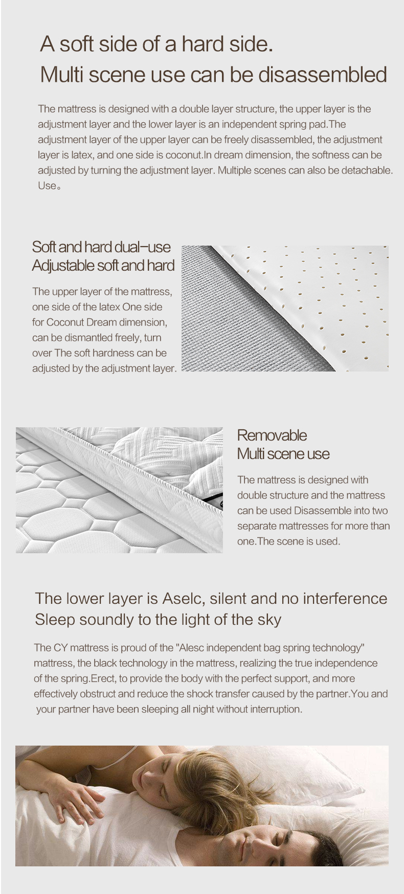 china supplier compressed cheap spring mattress for bedroom furniture - Jozy Mattress | Jozy.net