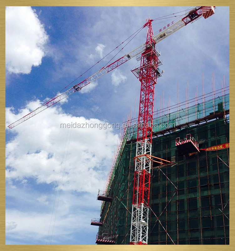 Tower Crane manufacturer CE Approved high quality topless tower crane for sale