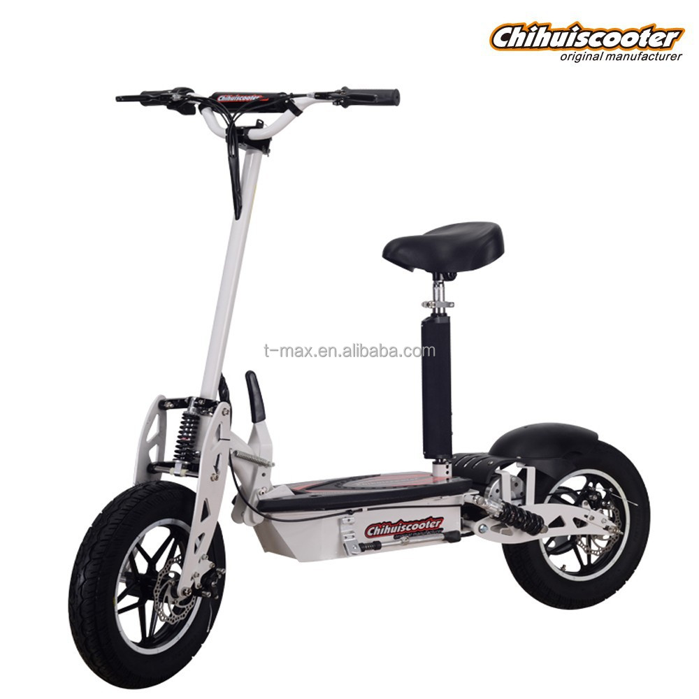 1000w electric scooter with 2 big wheel oem acceptable for Big wheel motor scooter