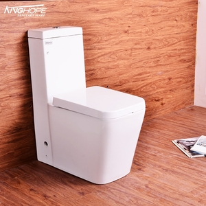Safe and sturdy ceramic one piece manufacturers wc toilet parts with sink