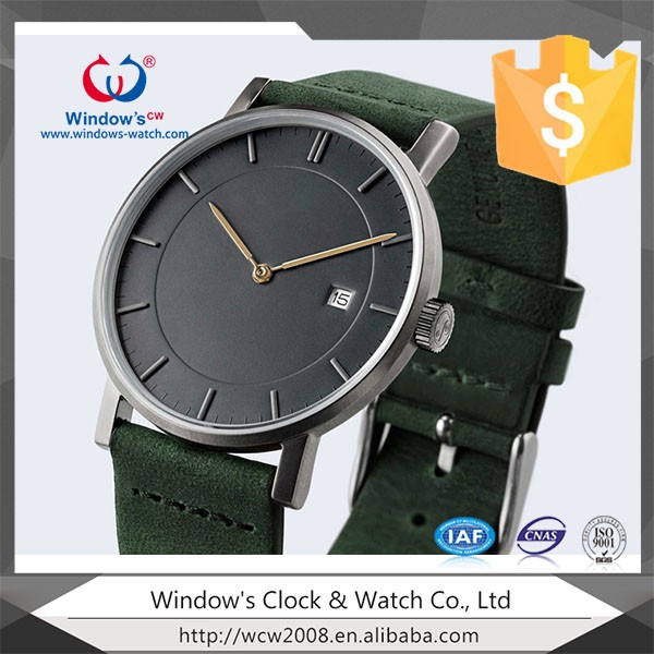 oem odm customize your logo leather watches