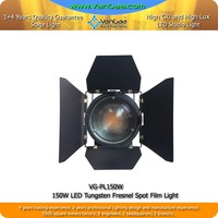 100W LED Spot Stage Equipment High Brightness 100W LED Fresnel Wash Light Warm White or Colod White to Optional