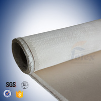 high temperature resistance glass fiber material 18oz silica cloth