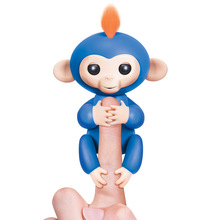 Fingerlings Boris Blue Baby Monkeys with Bonus Stand