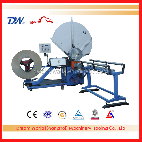 Yoyo check now spiral round duct forming machine hvac, spiral duct pricing