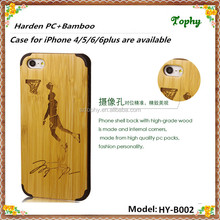 For Apple iPhones Compatible Brand and Bamboo/Wood,wood/bamboo Material plastic wood case for iphone 5s 6s
