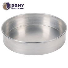 HOT SELLING Customized Round Aluminium bread baking tray / pan