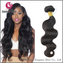 Easy to dye human hair extensions hair weave for african americans
