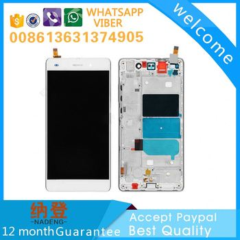 2017 hot sale for Huawei P8 lcd screen with frame sample in alibaba
