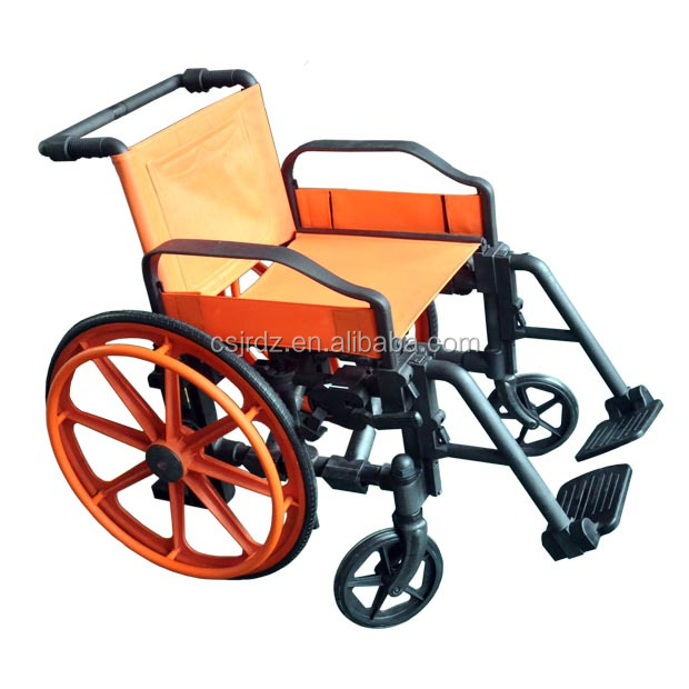 Medical MRI Equipments Properties Non-Ferrous Wheelchair