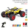 Four-wheel drive 1:24 4wd rovan rc baja designs with three differential mechanisms