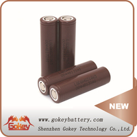 18650 High Discharge Rate Battery Cells LG HG2 18650 Battery 3.7V 3000mAh 30A 18650 Rechargeable Battery