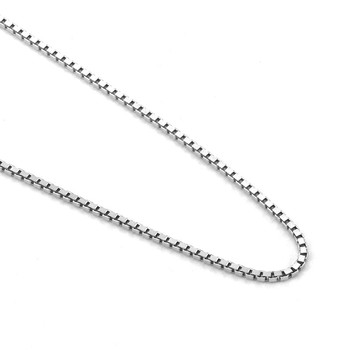 C-01 Fashion Environmental Sterling Silver Chain Women Necklace