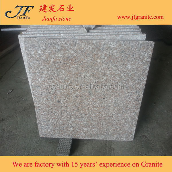 Popular Polished Chinese Pink granite G617 Floor Tile Designs