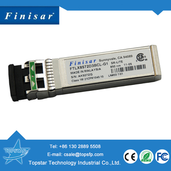 Finisar FTLX8572D3BCL-G1 10G SFP fiber module compatible Huawei SFP