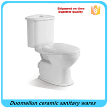 Two pc toilet sanitary ware washdown flushing,chinese ceramic two pc wc toilet prices,chinese toilet with cheap price