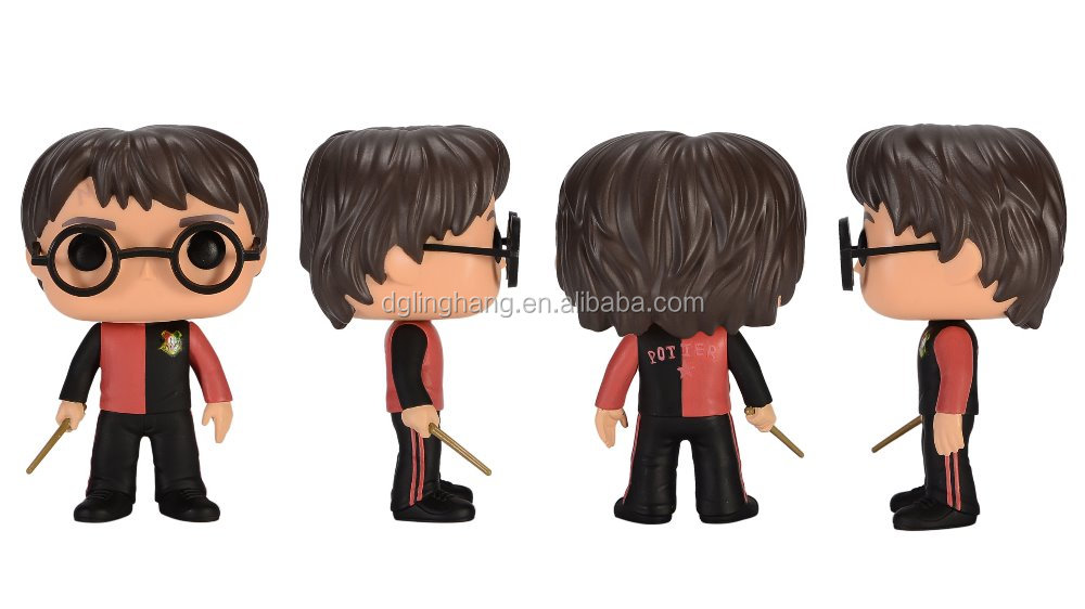 OEM plastic action figure famous movie character Funko POP Harry Potter