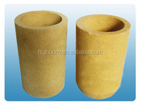 Refractory Magnesia ceramic boat/pot/ mgo crucible for melting high temperature melt