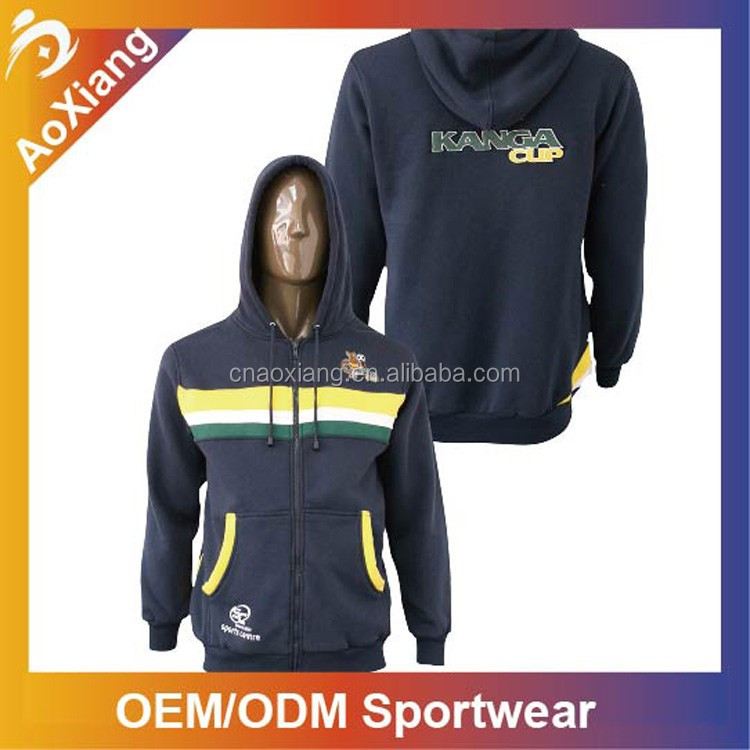 Winter pullover sweatshirt embroidery customize logo