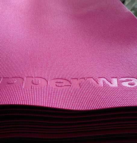 Factory Direct Sale TPE/PVC Yoga Mat,cheap existing wholesale gymnastic mat, Anti-slip exercise