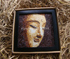 Portrait painting for sale - Rice Painting of Lord Buddha
