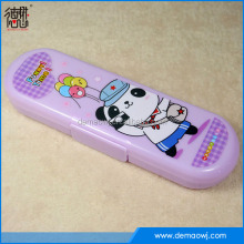 Fashion professional children panda picture school product stylish pencil box