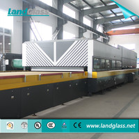 Horizontal Tempering Machine / LandGlass Glass Furnace For Sale