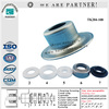 bearing matched fittings metal cover high precision conveyor roller bearing housing and seal parts