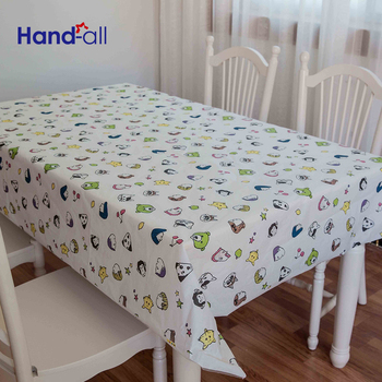 Table Cloth Factory Supply Workable Price Modern Waterproof Table Cloth