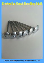 Widely Use Hot Sale Zinc Roofing Nails With Twisted Shank