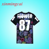 High Quality Dye Sublimation T-shirt Printing