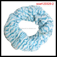 fashion blue stripe scarf tube scarf
