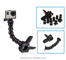 GOPRO Jaws Flex Clamp Mount for GoPro Accessories or Camera Hero1/2/3/3+/4 sj4000/5000/6000