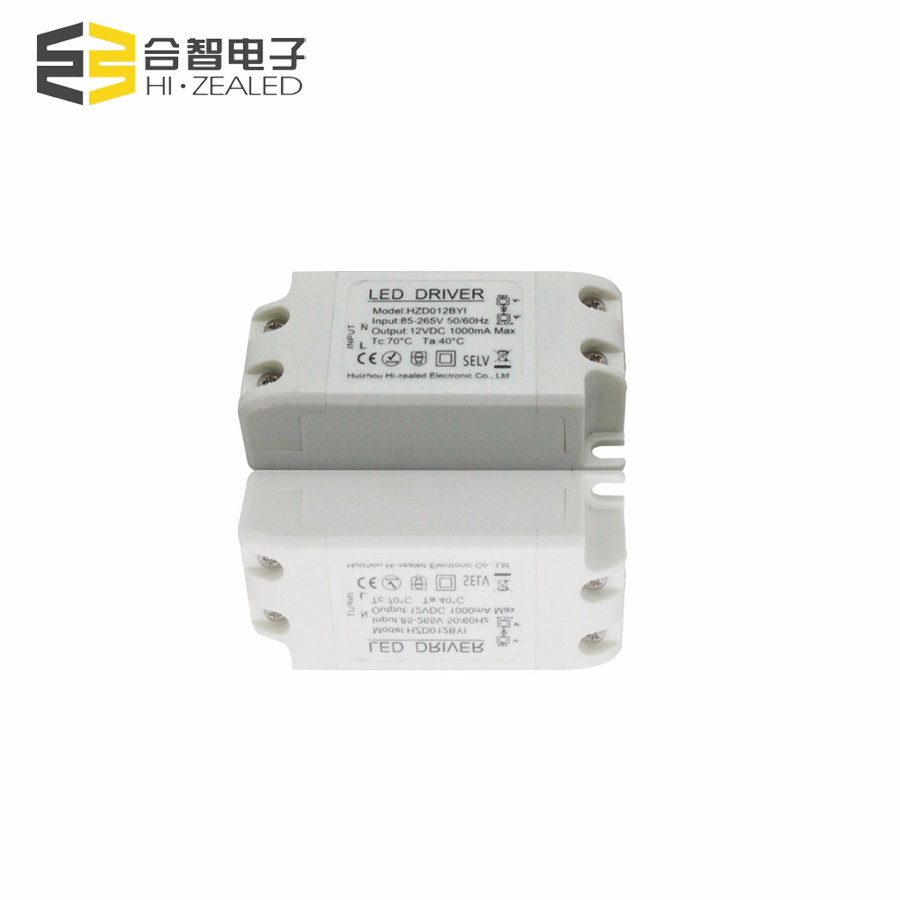 High quality led driver 12w constant voltage 12v 0.5a 1a 2a led power supply for led lights