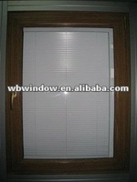 Blind window,famous and beautiful design,pvc blind window